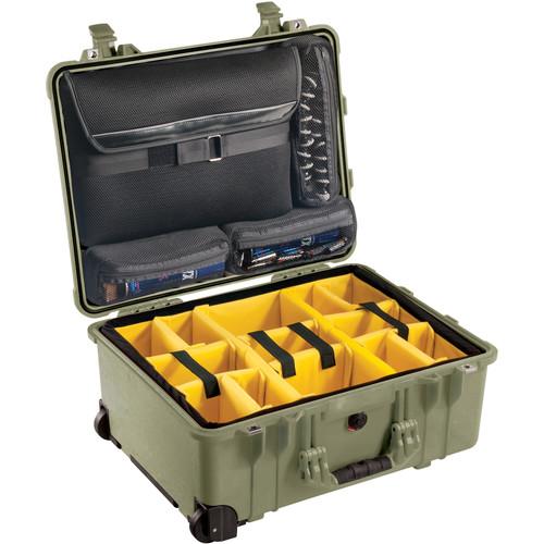 Pelican 1560SC Studio Case (Green V2)