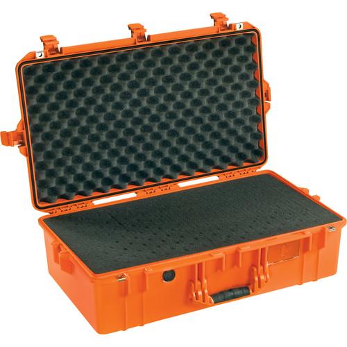 Pelican 1605 Protector Air Case (Orange, Pick-N-Pluck Foam)