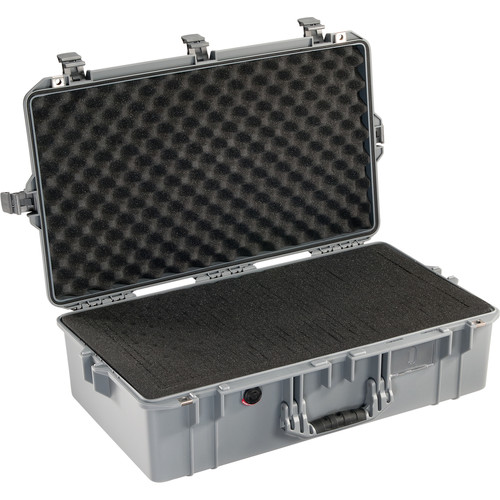 Pelican 1605 Protector Air Case with Foam Insert (Silver)