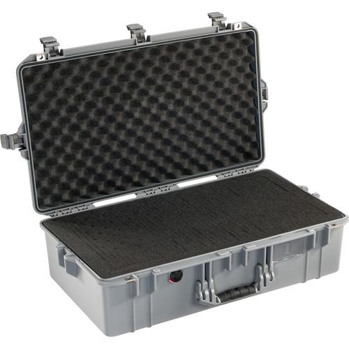 Pelican 1605 Protector Air Case (Silver, Pick-N-Pluck Foam)