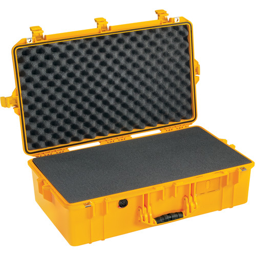 Pelican 1605 Protector Air Case (Yellow, Pick-N-Pluck Foam)