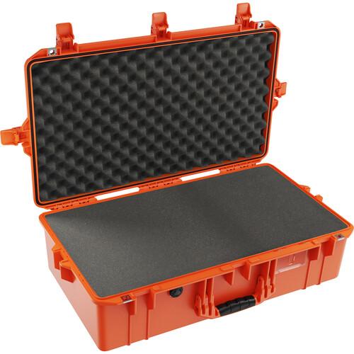 Pelican 1605AirWF Hard Carry Case with Foam Insert (Orange)