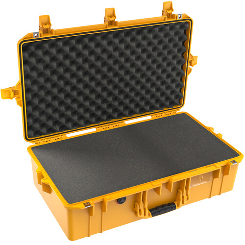 Pelican 1605AirWF Hard Carry Case with Foam Insert (Yellow)
