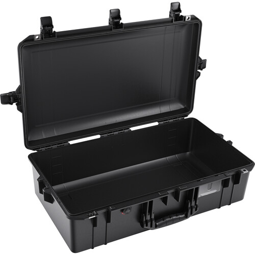 Pelican 1605AirNF Hard Carry Case with Liner, No Insert (Black)
