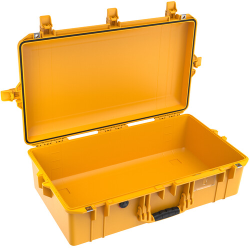 Pelican 1605AirNF Hard Carry Case with Liner, No Insert (Yellow)