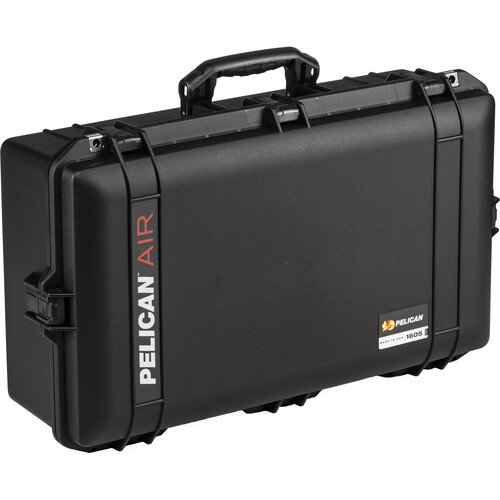 Pelican 1605 Protector Air Case with Foam Insert (Black)