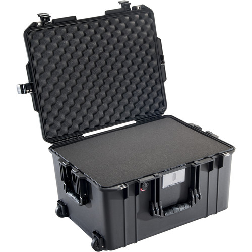 Pelican 1607 Air Case (Black, Pick N' Pluck Foam)