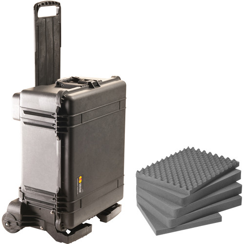 Pelican 1610M Case and Mobility Kit with Foam