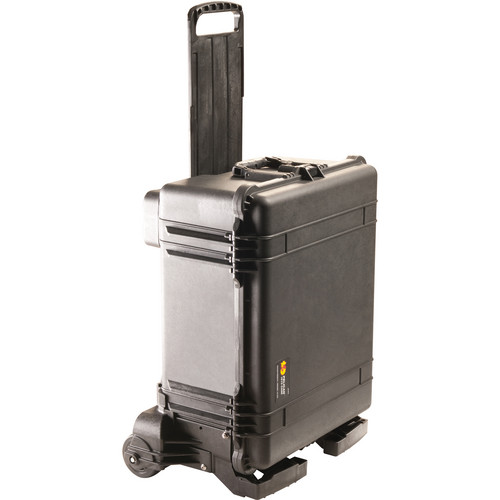 Pelican 1610MNF Case and Mobility Kit without Foam