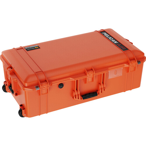 Pelican 1615Air Wheeled Check-In Case with Pick-N-Pluck Foam (Orange)