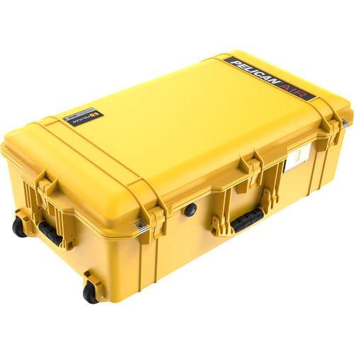 Pelican 1615Air Wheeled Check-In Case with Pick-N-Pluck Foam (Yellow)