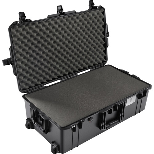 Pelican 1615AirWF Wheeled Hard Case with Foam Insert (Black)