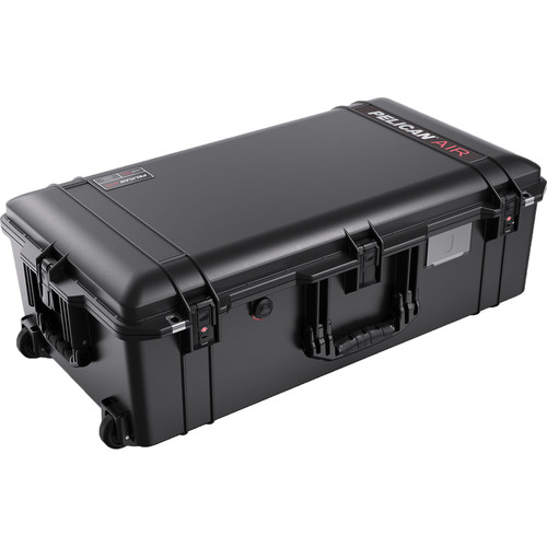 Pelican 1615TRVL Wheeled Check-In Case Lid Organizer and Packing Cubes (Black)