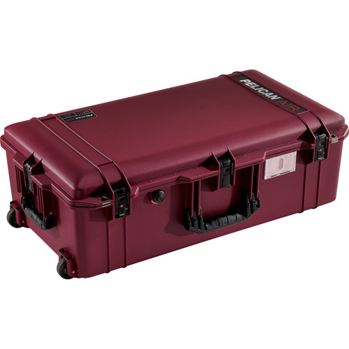 Pelican 1615TRVL Wheeled Check-In Case Lid Organizer and Packing Cubes (Oxblood)