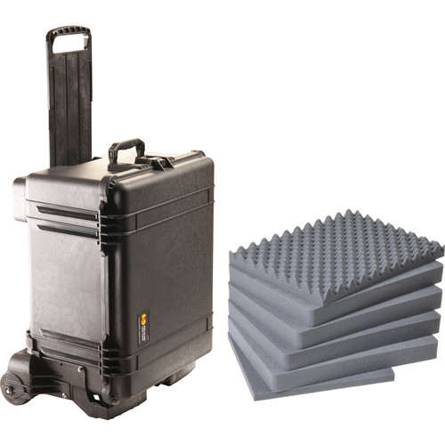 Pelican 1620M Case and Mobility Kit with Foam