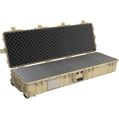 Pelican 1770 Protector Long Case with Foam (Desert Tan)
