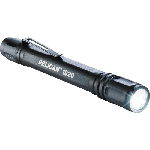 Pelican 1920B MityLite LED Flashlight (Black)