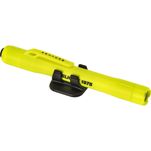 Pelican 1975 Safety Certified 2AAA Penlight with Helmet Mount