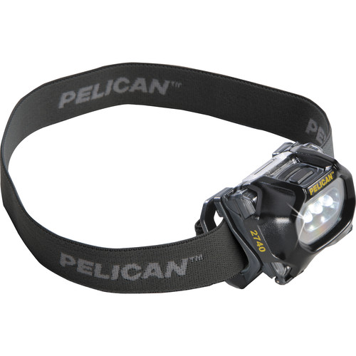 Pelican 2740C LED Headlamp 2nd Generation (66 Lumens, Black)