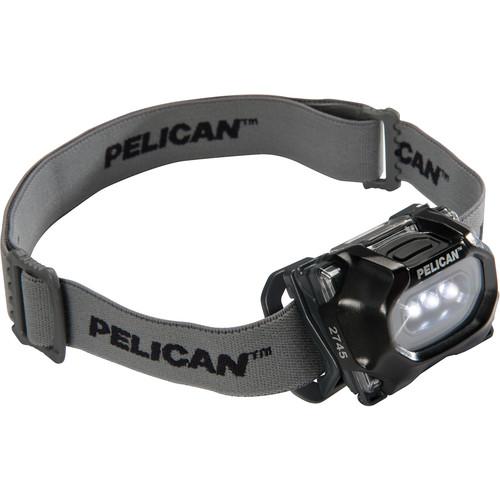 Pelican 2745 LED Headlight (Black)