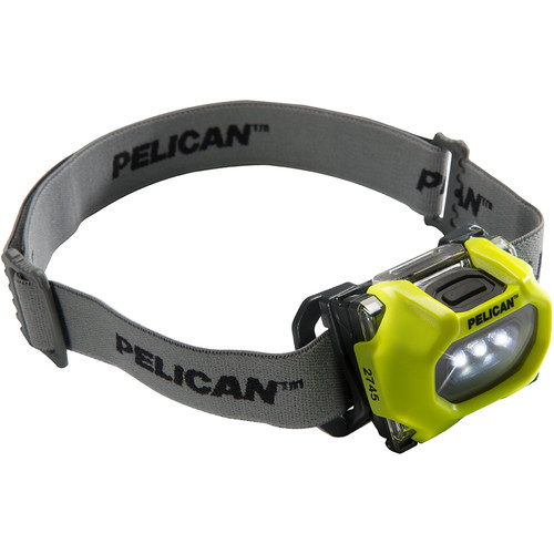 Pelican 2745C LED Headlamp (Yellow)