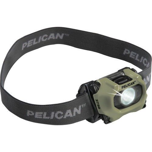 Pelican 2750PL v.2 LED Headlight with Photoluminescent Ring (Yellow)