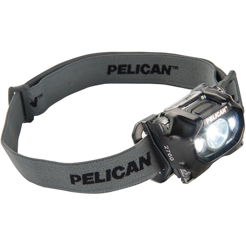 Pelican 2760 v.2 Dual-Spectrum LED Headlight (Black)