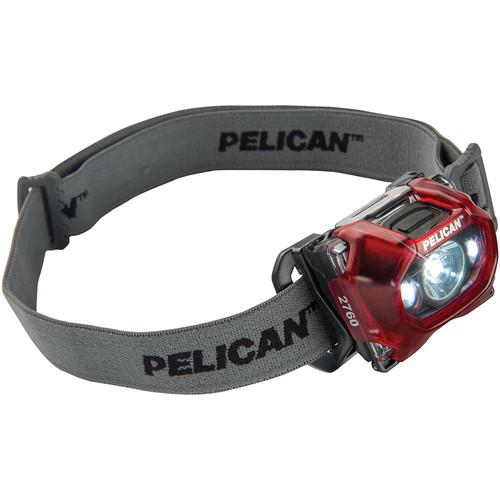 Pelican 2760 Gen 3 LED Headlamp (Translucent Red)