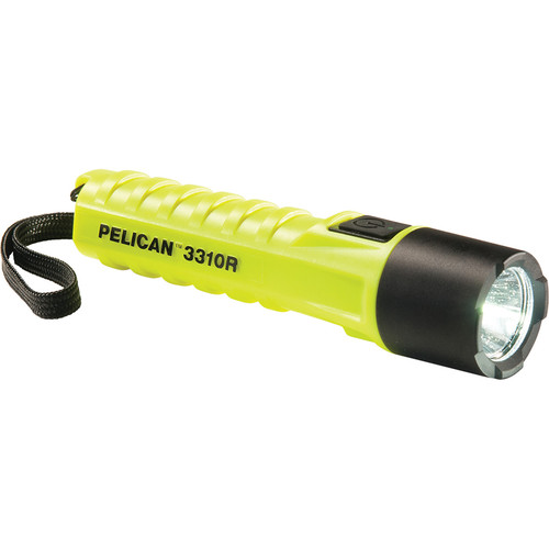 Pelican 3310R Rechargeable Flashlight (Yellow)