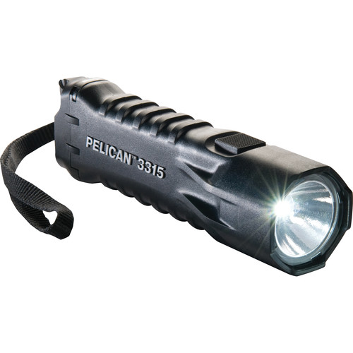 Pelican 3315 Single-Output LED Flashlight (Black)