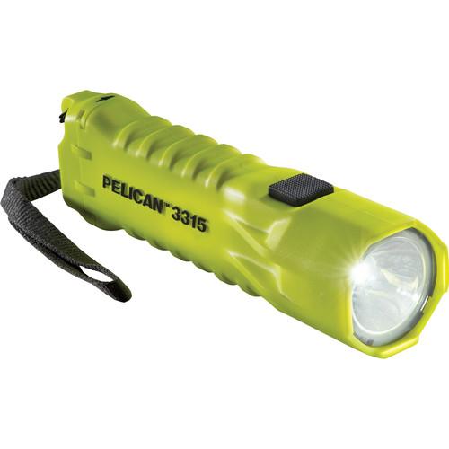Pelican 3315 LED Flashlight (Yellow)