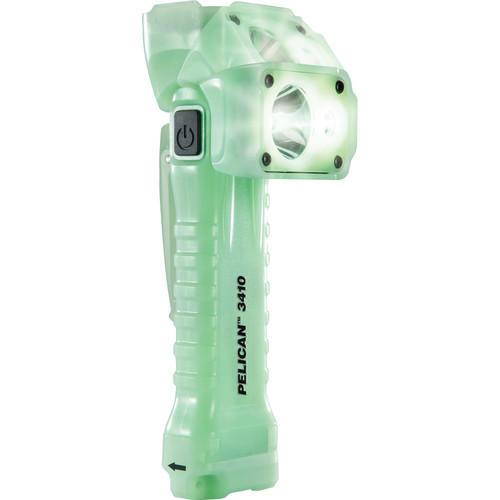 Pelican 3410 Gen 2 Right Angle LED Flashlight (Photo-Luminescent Green)