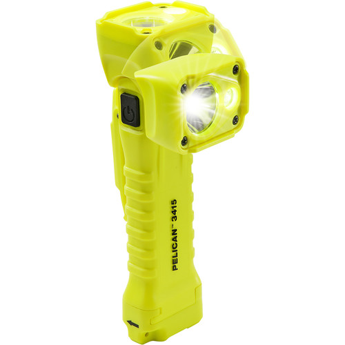Pelican 3415 Right Angle Light (Bright Yellow)