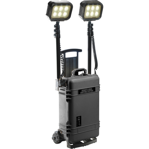 Pelican 9460RS Remote Area Lighting System with Wireless Activation (Black)