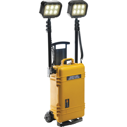 Pelican 9460RS Remote Area Lighting System with Wireless Activation (Yellow)