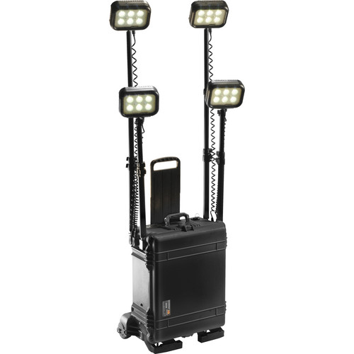 Pelican 9470RS Remote Area Lighting System with Wireless Activation (Black)