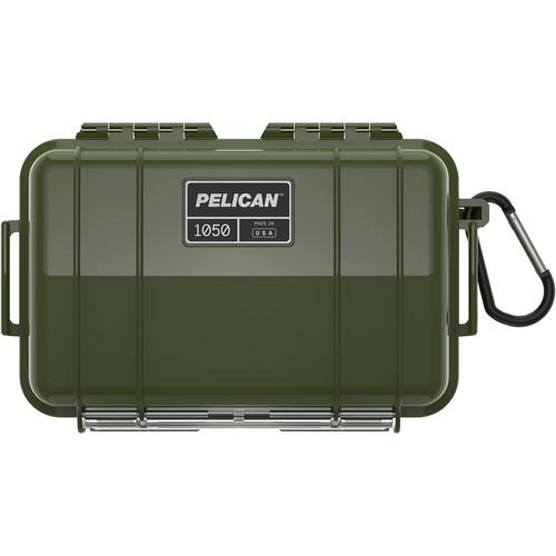 Pelican 1050 Solid Micro Case (OD Green)