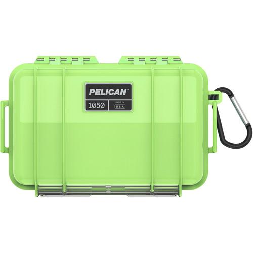 Pelican 1050 Solid Micro Case (Bright Green)