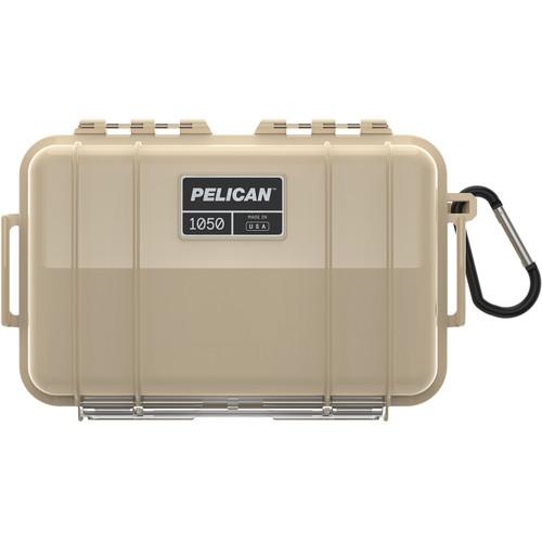 Pelican 1050 Solid Micro Case (WI-Black/Desert Tan)