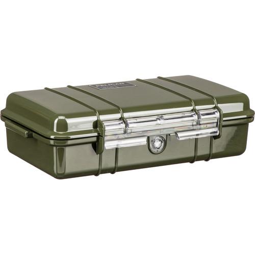Pelican 1060 Solid Micro Case (Black/OD Green)