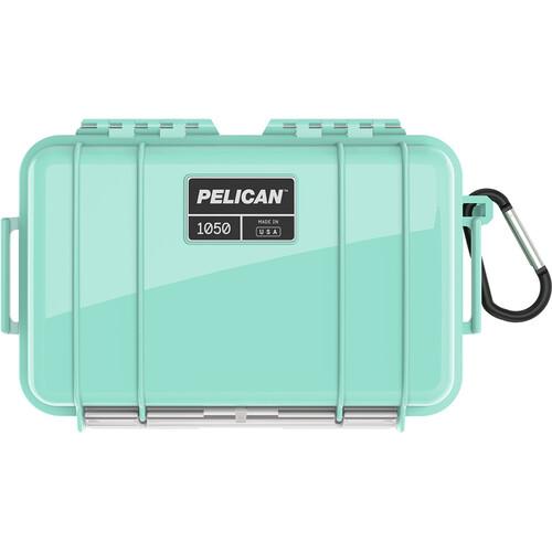 Pelican 1060 Solid Micro Case (Black/Seafoam)