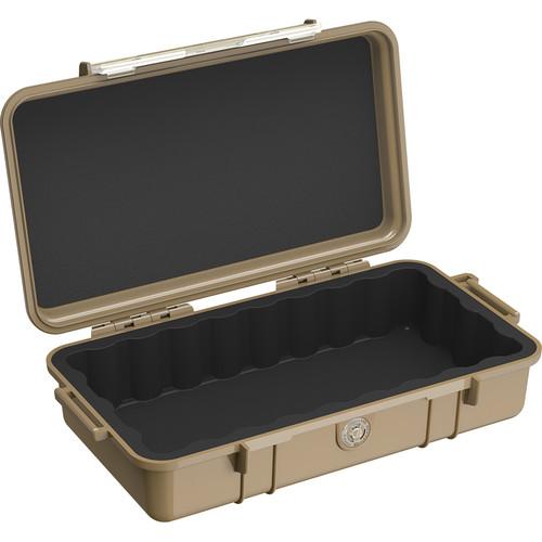 Pelican 1060 Solid Micro Case (Black/Desert Tan)