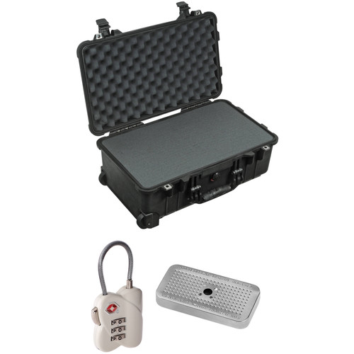 Pelican 1510 Case with Foam Set, TSA Lock, Desiccant Gel (B&H Kit)