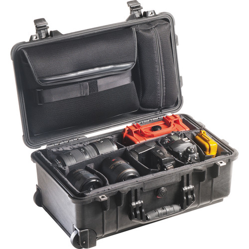 Pelican 1510SC Studio Case with Divider Set, Lid Organizer, TSA Lock, Desiccant Gel (B&H Kit)