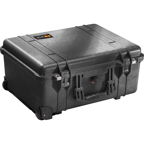 Pelican 1560SC Studio Case with Divider Set, Lid Organizer, TSA Lock, and Desiccant Gel (B&H Kit)