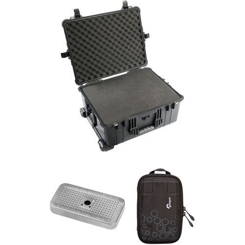 Pelican 1610 Case with Foam Set, Accessory Case, Desiccant Gel (B&H Kit)