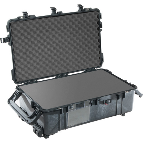 Pelican 1670 Case with Foam (Black)