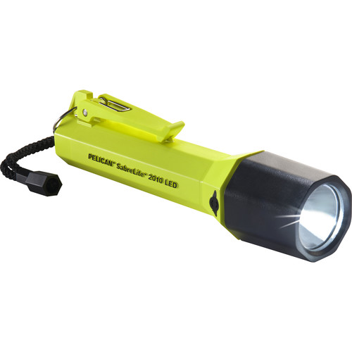 Pelican SabreLite 2010 LED Flashlight (Yellow)