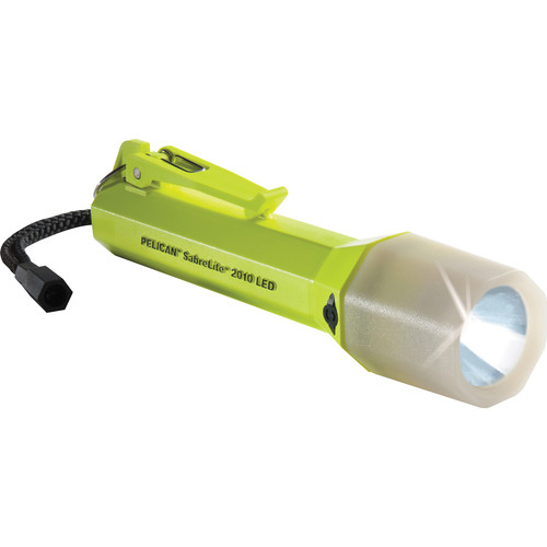 Pelican SabreLite 2010PL LED Flashlight (Yellow with Photoluminescent Shroud)