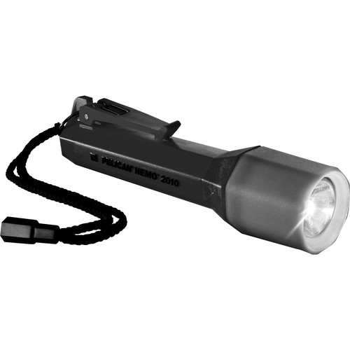 Pelican Nemo 2010N LED Flashlight with Twisting Lens Shroud (Black)